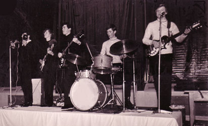 In a band 1965